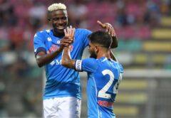 Victor Osimhen e Lorenzo Insigne, Napoli