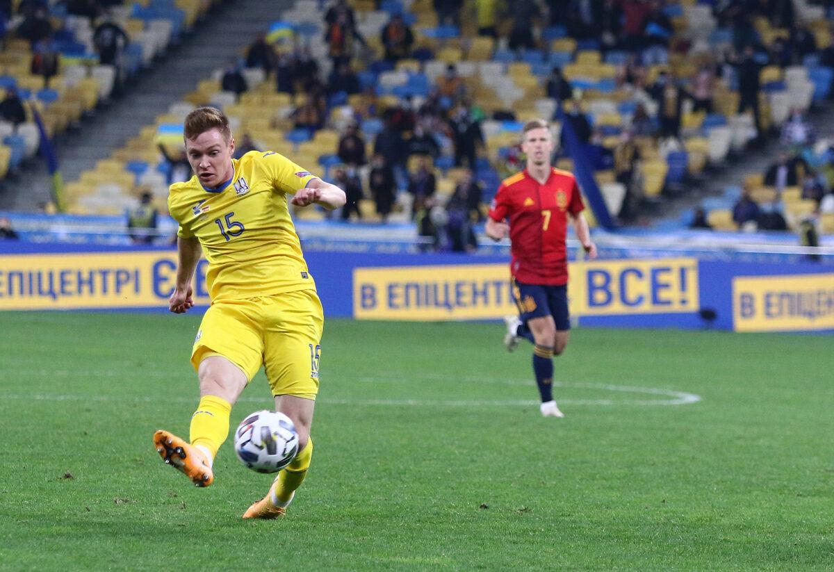 Viktor Tsygankov, centrocampista Ucraina