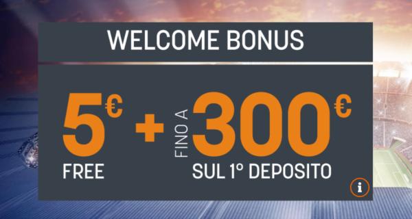 Welcome Bonus SNAI