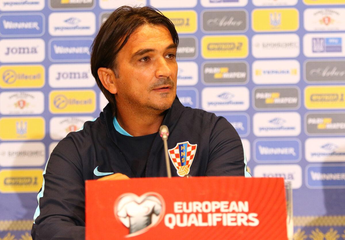 Zlatko Dalic, allenatore Croazia