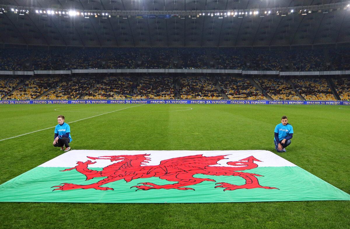 bandiera Galles