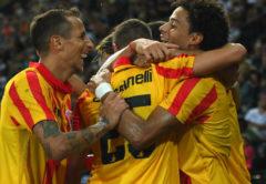 esultanza Benevento - Serie B