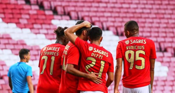 esultanza Benfica