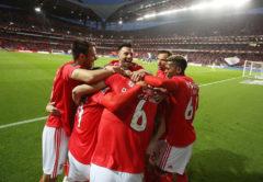 esultanza Benfica, Primeira Liga