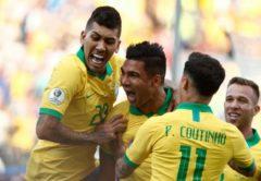 esultanza Brasile, Coppa America 2019