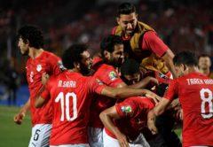 esultanza Egitto, Coppa d'Africa