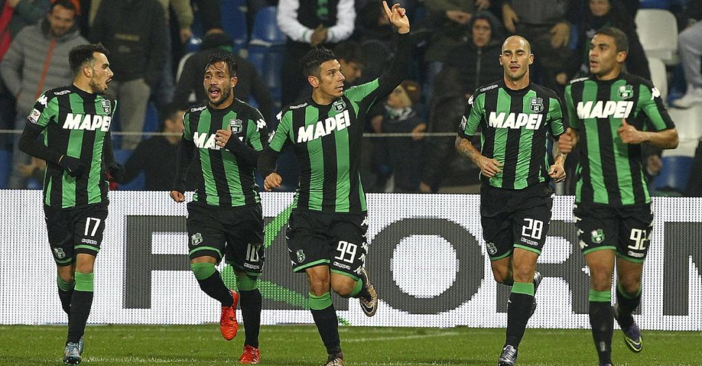Esultanza Sassuolo, Serie A