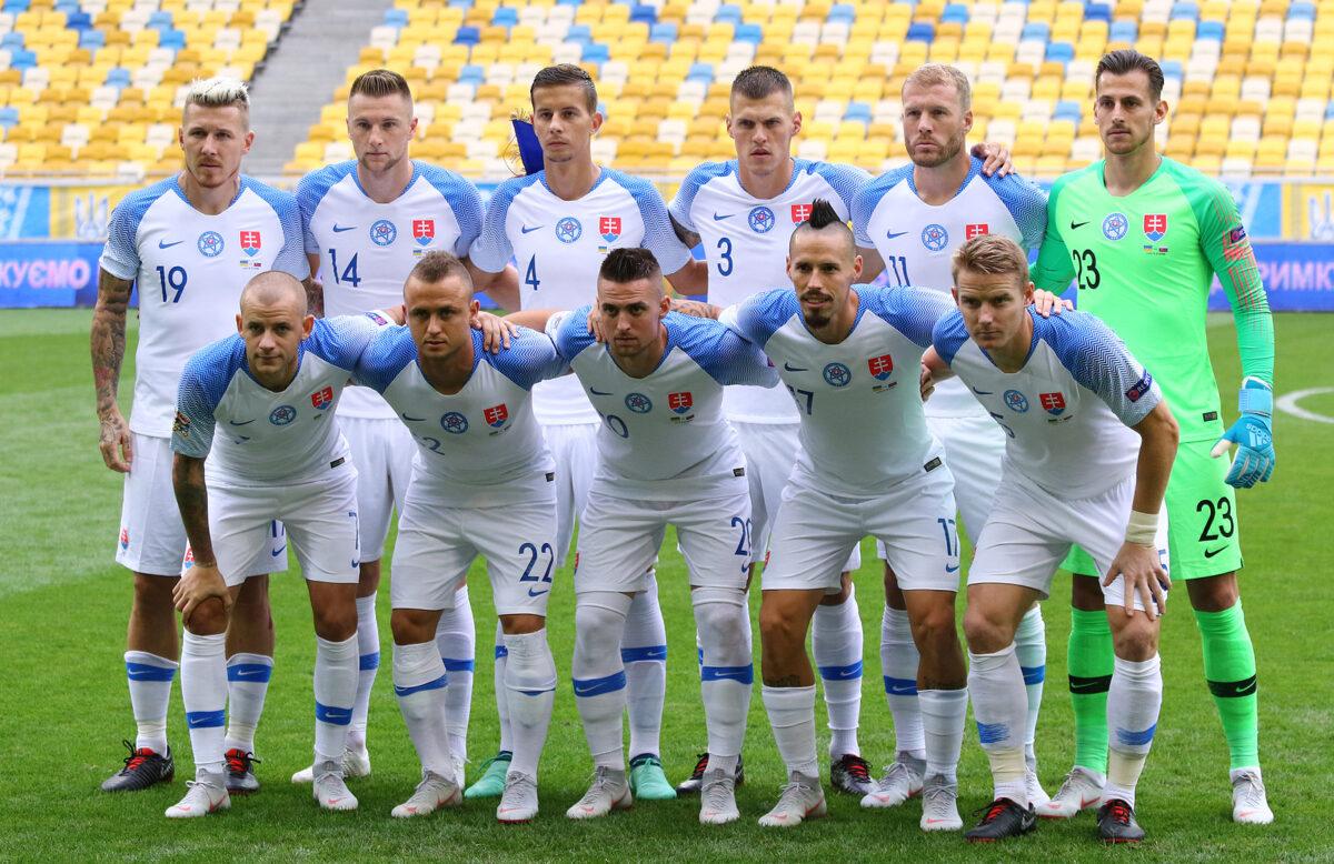 formazione Slovacchia