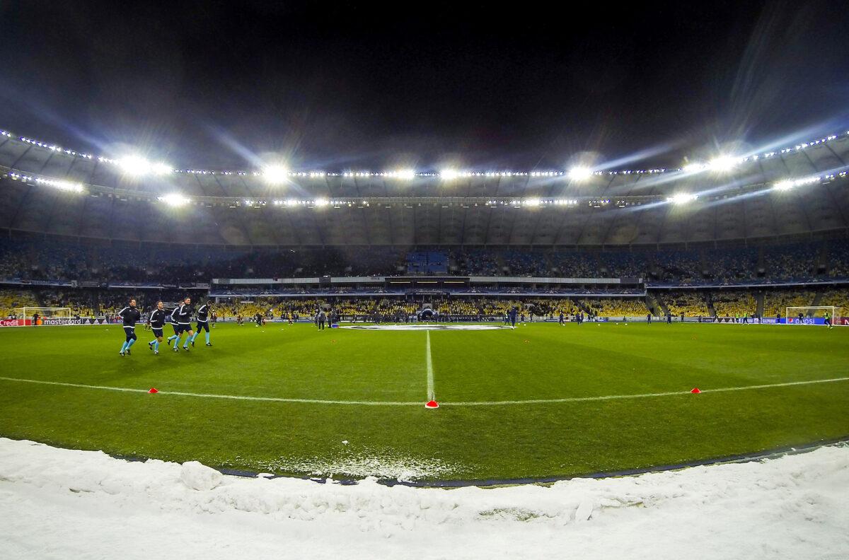 stadio Olimpico, Kiev