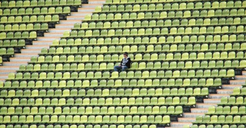 Tifoso Tribuna Stadio