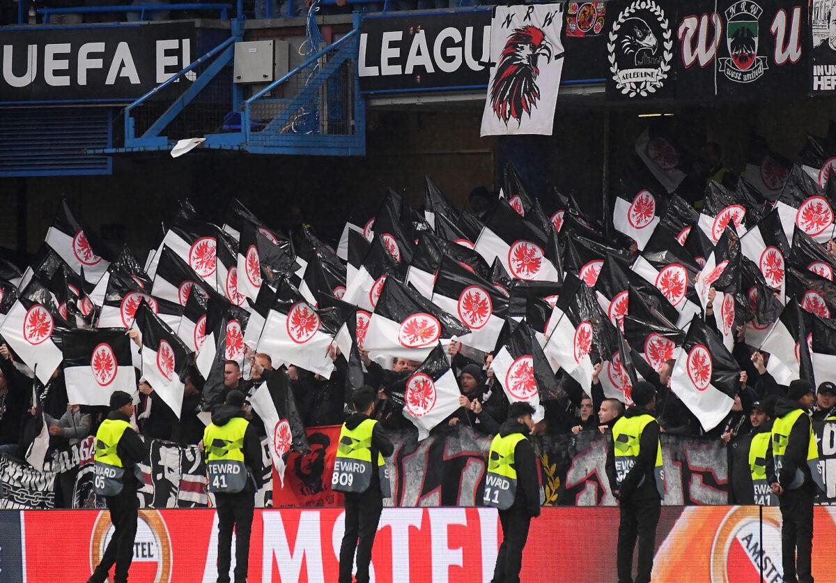 tifosi Eintracht Francoforte